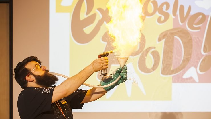 blowtorch science experiment
